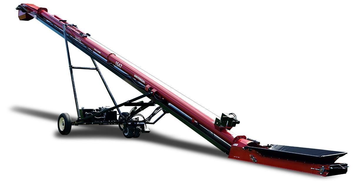 self propel tube conveyor