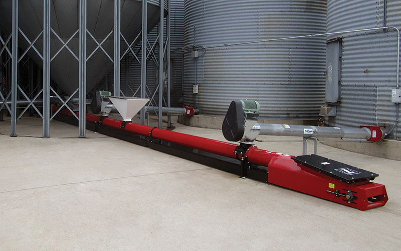 custom tube conveyors